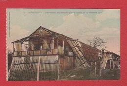 Madagascar  -- Diego Suarez  --  Un Batiment De L Artillerie Après Le Cyclone Du 24 Nov 1912 - Madagascar