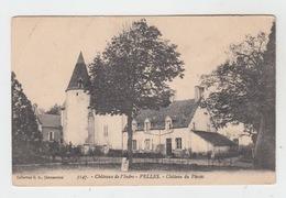 36 - VELLES / CHATEAU DU PLESSIS - Francia