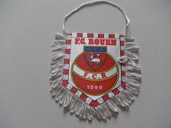 Fanion Football - FC ROUEN - SEINE MARITIME - Habillement, Souvenirs & Autres