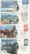 Tour De France 1981 - BT La Ferrière Thonon Morzine Alpe D'Huez - Savoie Isère - Vélo Cyclisme Bicycle - Cycling