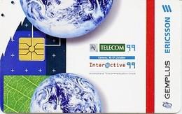 @+ Carte à Puce Gemplus - Telecom 99 Geneva - Cartes De Salon Et Démonstration