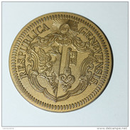 """Monnaie Jeton 25 (Franc, Batz ?) """" 450e Anniversaire De La Réformation """" 1536-1986 République De Genève Swiss Suisse - Switzerland"""