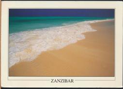°°° GF39 - ZANZIBAR - RAS NUNGWI BEACH - With Stamps °°° - Cartoline
