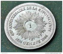 """Monnaie Jeton 1 (Franc, Batz ?) """" 450e Anniversaire De La Réformation """" 1536-1986 République De Genève Swiss Suisse - Switzerland"""