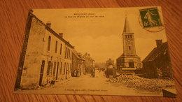 CPA 61 - ORNE - MOULICENT La Rue De L'église Un Jour De Noce - J. Pervis édit. à Courgeoust (Orne) - France