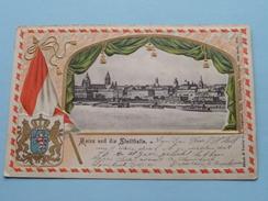 Mainz Und Die STADTHALLE () Anno 1905 ( Zie Foto Voor Details ) !! - Mainz
