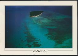 °°° GF40 - ZANZIBAR - AERIAL VIEW OF BAWE ISLAND - With Stamps °°° - Cartoline