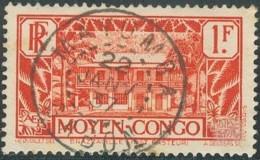 Moyen Congo - Oblitération De Mayumba / Gabon Sur N° 128 (YT) N° 129 (AM). - Gebraucht