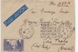 FRANCE  PLI  AERIEN  1936 - Air Post
