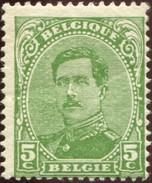 COB  137C (**) Type IV / Yvert Et Tellier N° 137 (**) - 1915-1920 Albert I