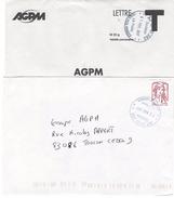 Oblitération Militaire SODEXO  AP SPID Sur Timbre De Carnet Ciappa - Marcophilie (Lettres)