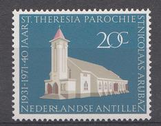 Ned.Antillen 1971  Nvph Nr: 434 St.Theresia Parochie Aruba  Neuf Sans Charniere-MNH-Postfris - Curaçao, Antilles Neérlandaises, Aruba