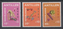 Ned.Antillen 1971  Nvph Nr: 442-444 Kinderzegels  Neuf Sans Charniere-MNH-Postfris - Curaçao, Antilles Neérlandaises, Aruba