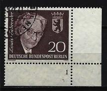 BERLIN - Mi-Nr. 198 Formnummer 1 Gestempelt - Gebraucht