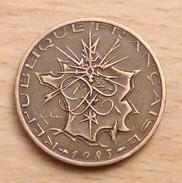 10 FRANCS MATHIEU 1983 TRANCHE B - K. 10 Franchi