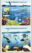 Eritrea 1997 Sc 297 & 298 Marine Life 2 Sheetlet Of 9 MNH** - Eritrea