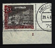 BERLIN - Mi-Nr. 221 Formnummer 2 Gestempelt - Berlin (West)