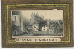 """MONTARGIS - Jolie Carte à Système """"Souvenir De MONTARGIS """" - Montargis"""