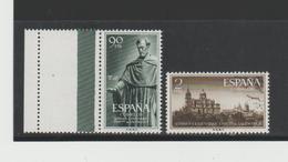SpaMi.Nr.1022-23/-/SPANIEN -  Tag Der Briefmarke 1953, Augustiner + Uni  Salamanca ** - 1931-Heute: 2. Rep. - ... Juan Carlos I
