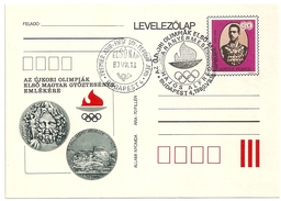 5104 Hungary FDC With SPM Postcard Sport Swimming Olympic Champion