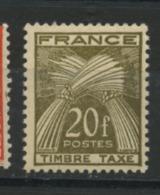FRANCE - TAXE  - N° Yvert 87 ** - Segnatasse