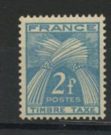 FRANCE - TAXE  - N° Yvert 82 ** - Segnatasse