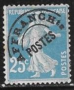 N° 56   FRANCE  -  PREOBLITERE  TYPE SEMEUSE  -  NEUF -   1922/1947 - Préoblitérés