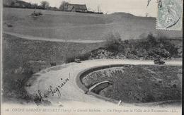 CARTE POSTALE ORIGINALE ANCIENNE : LA COUPE GORGON BENNETT 1905 CIRCUIT AUTOMOBILE MICHELIN LA VALLEE PUY DE DOME (63) - Rallyes