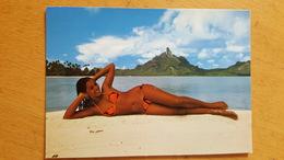 BORA-BORA Carte Postale Neuve Années 70 Très Bon état Dos Partagé - Polynésie Française