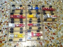 Lot De 10 Formules 1 Miniatures Publicitaire Elf Collection Lotus Ferrari Honda McLaren Matra F1 - Publicitaires - Toutes Marques
