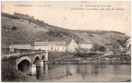 27 ACQUIGNY - Le Coteau, Vue Prise Du Chateau  (Recto/Verso) - Acquigny