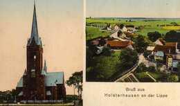 AK Holsterhausen An Der Lippe Bei Dorsten -Dorsten-Holsterhausen -seltene Ansichtskarte !!! - Allemagne