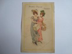 Calendrier 1901 PONT-NEUF PARIS - Calendarios