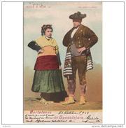 GDLJRTP6708CPA-LFT5150TCM.Tarjeta Postal DE GUADALAJARA.Trajes Tipicos De HOTTELANOS De Guadalajara(España).1903,CCLD - Cómics