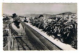 CPSM 06 ANTIBES La Gare - Antibes