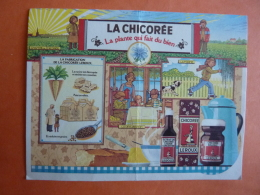 CALENDRIER  1986  PUBLICITE  LA CHICOREE  LEROUX     Mars 2017 196 - Calendriers