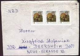 Polen Brief Opole - DDR 3601 Deersheim V. 10.1.1979 A. 3 X Mi 2569 - Briefe U. Dokumente