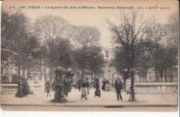 Dep  75 - Paris - Le Square Des Arts Et Métiers - Boulevard Sébastopol  : Achat Immédiat - France