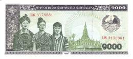 LAOS   1000 Kip   1996   P. 32d   UNC - Laos