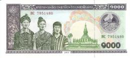LAOS   1000 Kip   2003   P. 32Ab   UNC - Laos