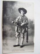 Cp1200 E18  JEAN RAMEAU  7 Ans Artiste  Vielleux Berrichon Né à St Florent - Musical Instruments