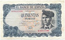 500 Pesetas 1971 - TB, 2 Scans - [ 3] 1936-1975: Regime Van Franco