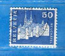 Svizzera ° - 1964-68 - Edifici Storici. Cat. Zum.417/ Mich. 883   Vedi Descrizione. - Usati