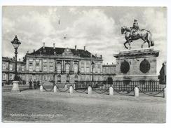 Kobenhavn Copenhague Amalienborg Slot 1958 - Danemark