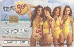 Mexico - Ladatel - Sol - Verano Sol - P-2243 - 30$, 05.2009, Used - Mexico