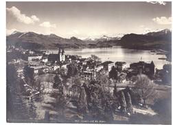 1521 Luzern Und Die Alpen Kilchberg - Foto