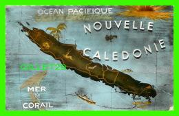 CARTES GÉOGRAPHIQUES - MAP NOUVELLE CALEDONIE  GYPSY, LA MAISON DU DISQUE ET DE LA RADIO NOUMEA - - Cartes Géographiques