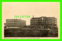 MONCTON, NEW BRUNSWICK - RESIDENCE DES GARDES-MALADES & HOTEL-DIEU DE L'ASSOMPTION - PECO -