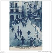 NVRRTP9764CPA-LFTM7239TATO.Tarjeta Postal DE NAVARRA.Publicitaria,ENCIERRO DE TOROS.FIESTAS SAN FERMIN,PAMPLONA - Toros