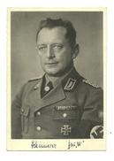 AK Fritz Schinnerer - RAD Generalarbeitsführer - Autograph - Guerre 1939-45